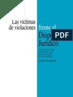 Las víctimas de violaciones frente al dispositivo jurídico