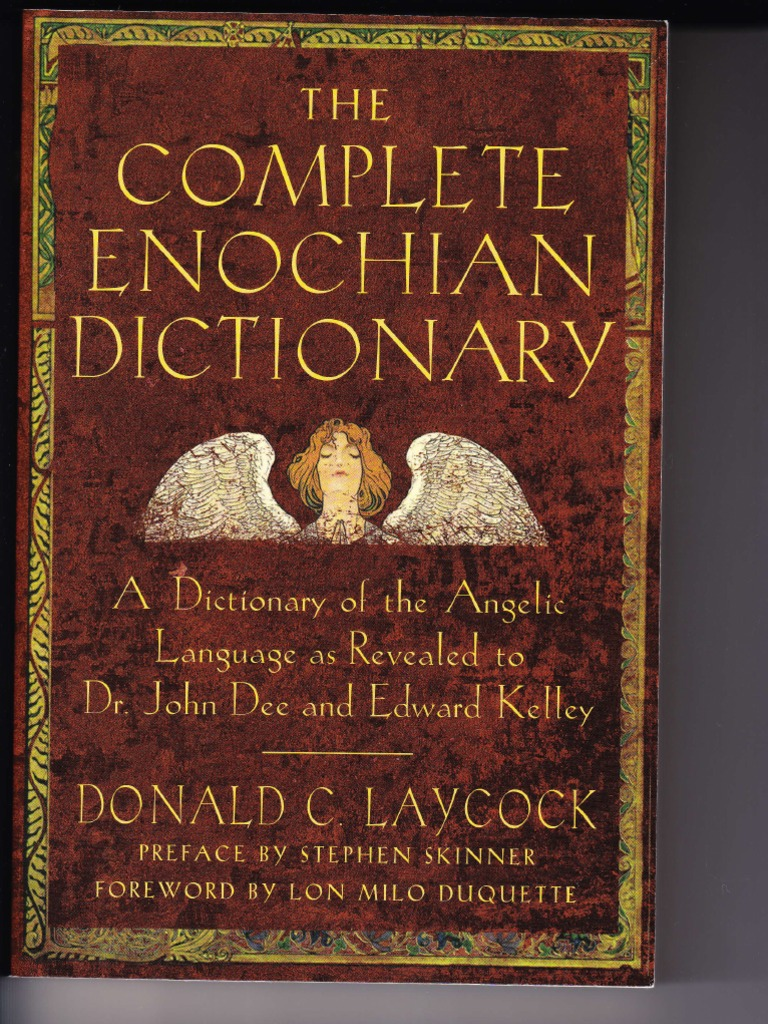 The complete enochian dictionary paranormal religion and belief buycottarizona Images