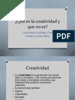 Qué es la creatividad y que no