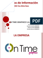 On Time Graphics Ppt Final