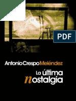 Antonio Crespo Meléndez-Biografía