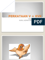 perkataan v + kvk