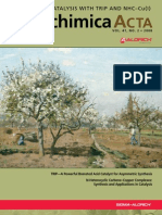Asymmetric Catalysis with TRIP and NHC–Cu(I) - Aldrichimica Acta Vol. 41 No. 2