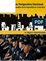 5. Seguridad en Perspectiva Nacional; Instituciones Responsables
