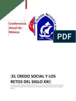 El Credo Social y Los Retos Del S. XXI