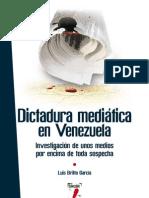 Dictadura mediática en Venezuela-LUIS BRITO GARCÍA