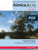 Improved Catalysts and Ligands for Asymmetric Synthesis - Aldrichimica Acta Vol. 41 No. 1