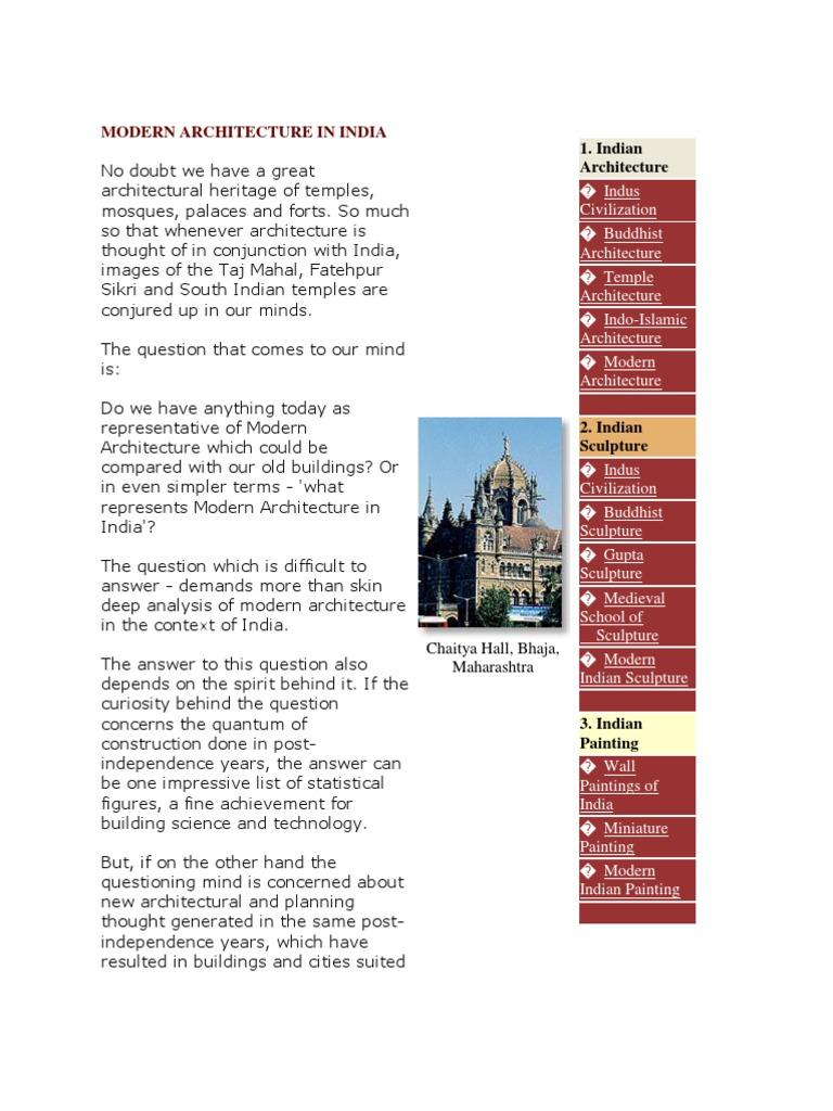 Modern Architecture Of India | Architect | Delhi