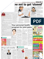 Your personal health program for joint pains