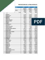 Proyeccion Cantonal Total 2010-2020