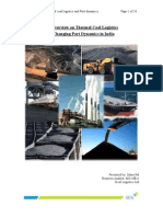 An overview on Thermal coal logistics and Port dynamics