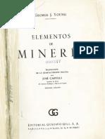 Libro de Elementos de Mineria