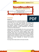 Pediatric Atopic Dermatitis