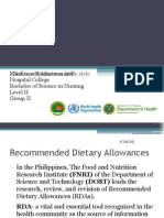 Diagnostic Tools in Nutrition