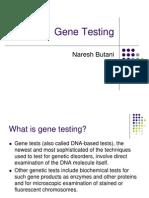 Gene Testing
