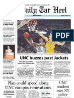 The Daily Tar Heel for January 24, 2013