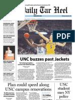 The Daily Tar Heel for January 24, 2013