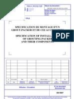 Grouting-packer de-0067 Vendor Document