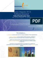Certificación Internacional Cultural Transformation Tools
