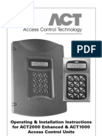ACT Pro 2000 Manual