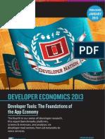 Developer Economics 2013 Survey