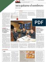 Can Maret sale en '5 a Taula' (La Vanguardia)