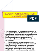 Educational Facilities Management