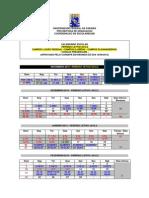 Calendário Escolar 2012.2