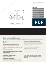 user guide  WB100 - WB101