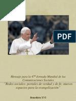 Mensaje Comunicaciones 2013