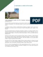 Spaţiul românesc între diplomaţie şi conflict în Evul mediu