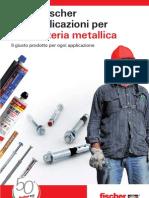 Guida fischer alle applicazioni per carpenteria metallica