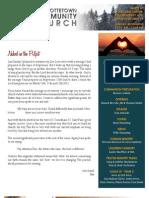 January 27, 2013 Newsletter