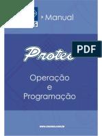 CNCProteo Mini Manual Operacao Torno