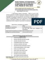 Edital Nº 0032013 nead SEB.MED
