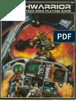 Mechwarrior 1st Edition