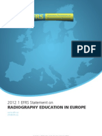 EFRS Statement - Radiography Education in Europe.pdf