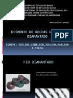 DESMONTE DE ROCHAS COM FIO DIAMANTADO.pptx
