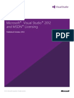 Visual Studio 2012 and MSDN Licensing Whitepaper - October-2012
