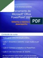 Treinamento do Microsoft® Power Point 2007
