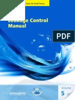 Leakage Control Manual