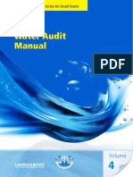 Water Audit Manual