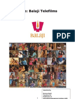 Case Study on Balaji Telefilms