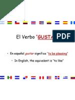 gustar presentation