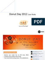 Gozoop - MadOverDonuts Case Study on Donuts Day 2012