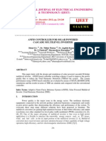 ANFIS CONTROLLER FOR SOLAR POWERED   CASCADE MULTILEVEL INVERTER