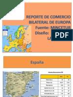 Reporte de Comercio Bilateral de Europa