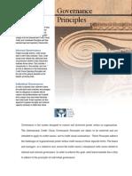 GovernancePrinciples