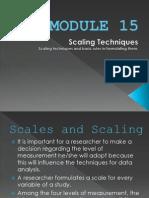 Research Module 15 and Module 16