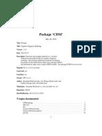 R - CDM Manual